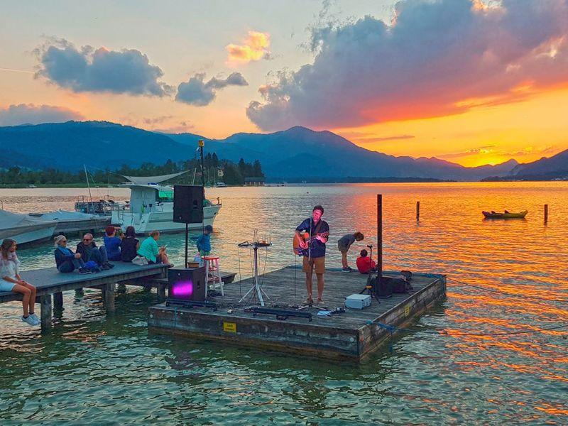 Sunset Break - Live Musik bei der Wein am See Bar