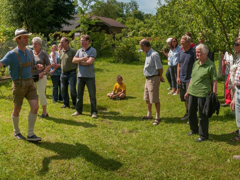 Traditionelles Gartenfest - Tag der offenen Gartentür