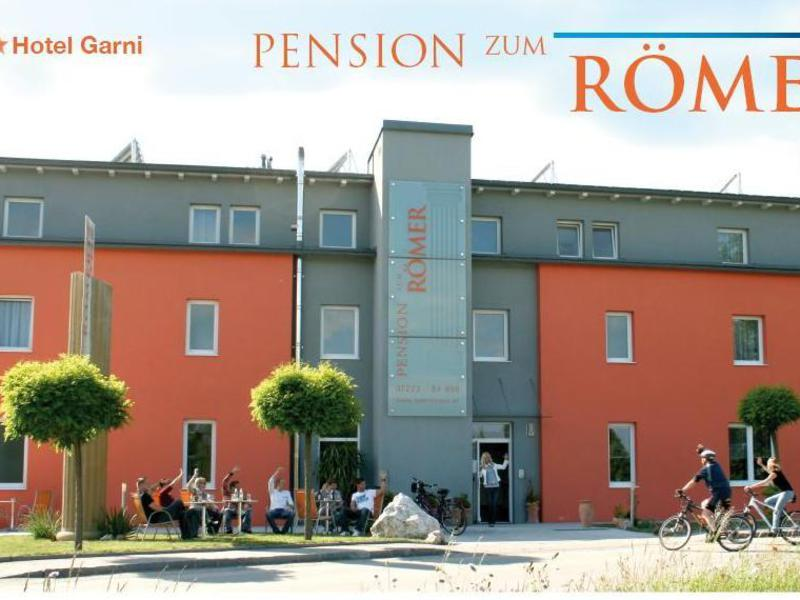 Pension zum Römer, Außenansicht