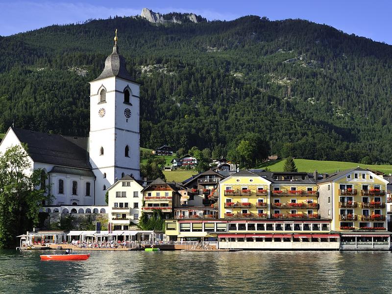 Traditionshotel direkt am Wolfgangsee