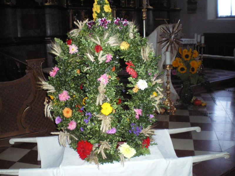 Erntedank in St. Wolfgang