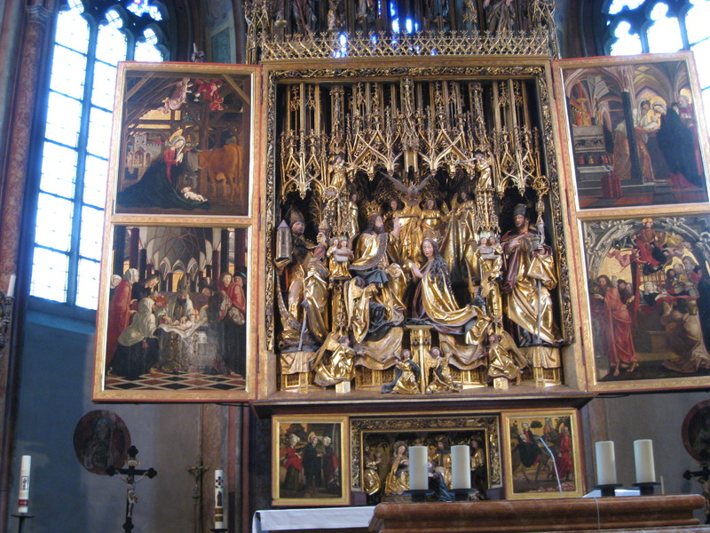 Adventkranzweihe in St. Wolfgang