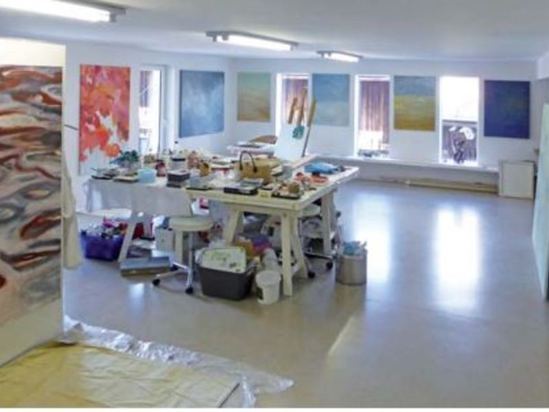 Offenes Atelier bei Jutta Kowatsch