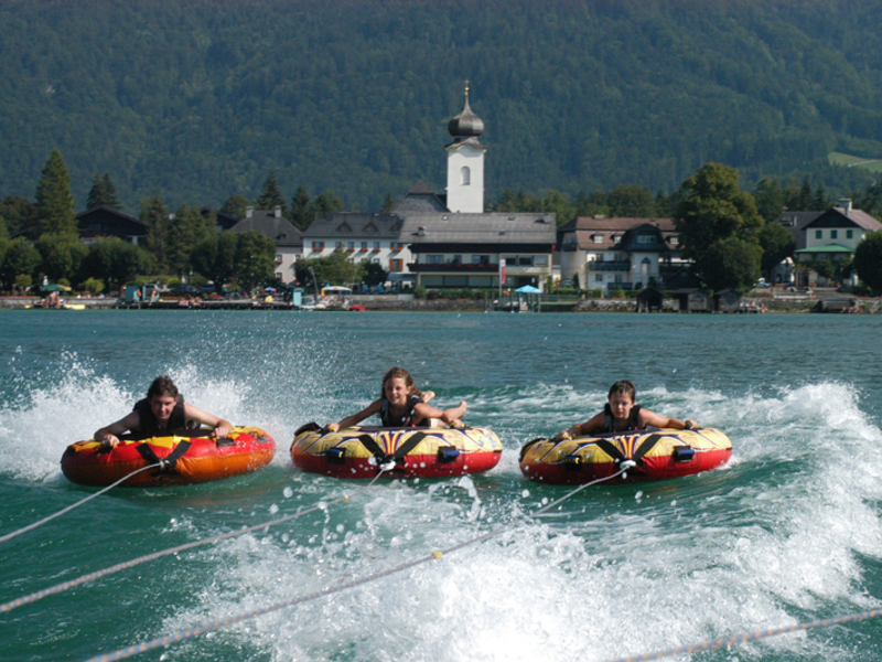 Action am Wolfgangsee
