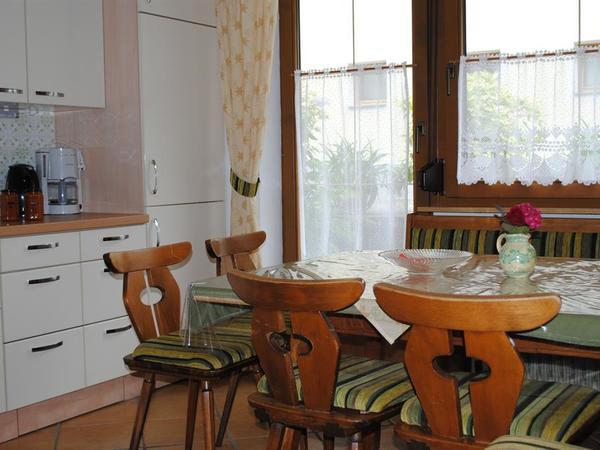 Fewo Terrasse Wohnküche