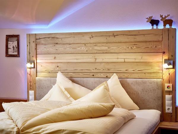 Schlafzimmer in der Stadl Lodge