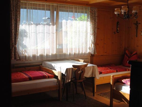 4-Bettzimmer Einzelbetten