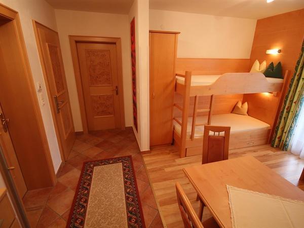 Wohnküche mit Etagenbetten