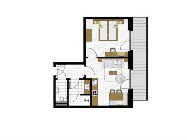 Apartment Amnethyst