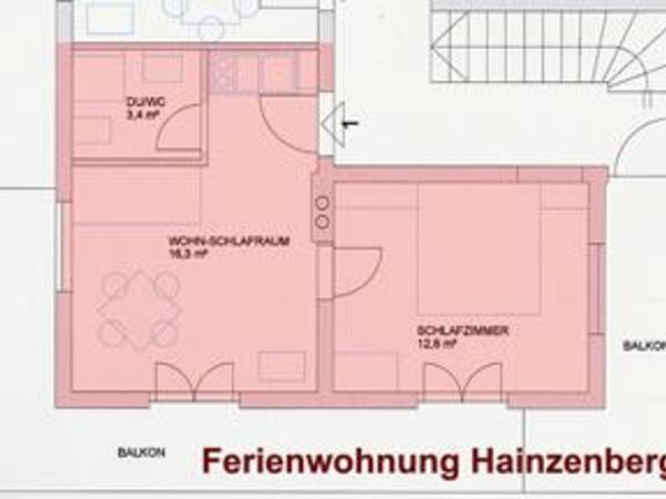 Ap. Hainzenberg - Grundriss