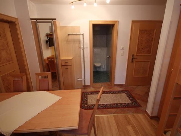 Wohnküche und eigenes WC