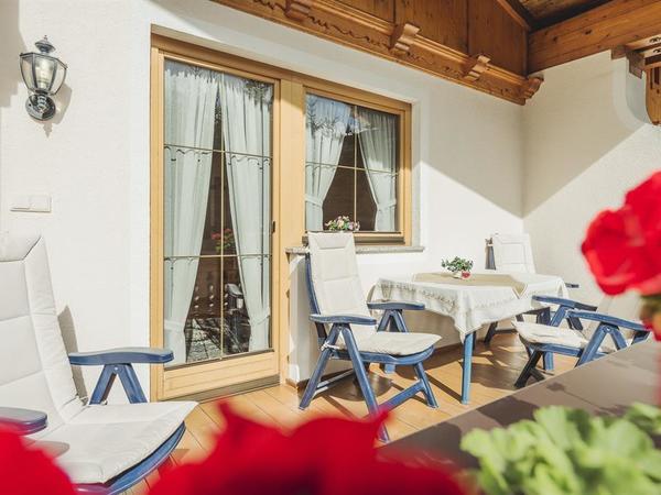 Balkon mit sonniger ruhiger Lage