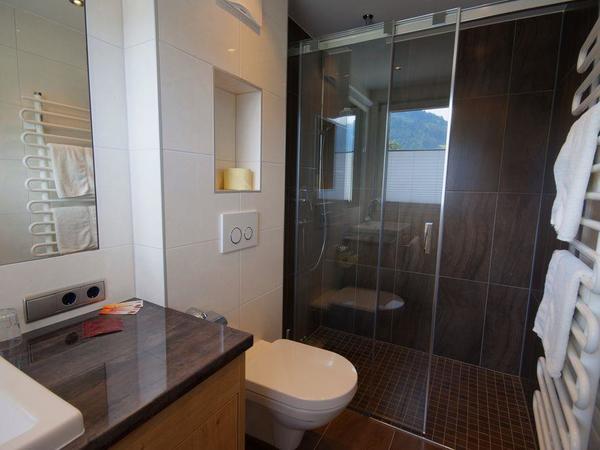 begehbare Dusche /WC