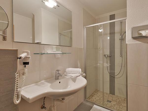 Badezimmer Typ A Hotel Glockenstuhl in Gerlos