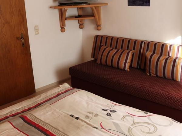 Doppelzimmer mit Schalfsofa
