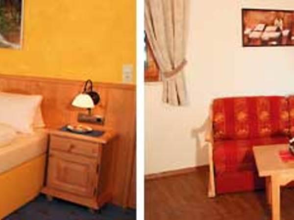 Schlafzimmer & Wohnraum