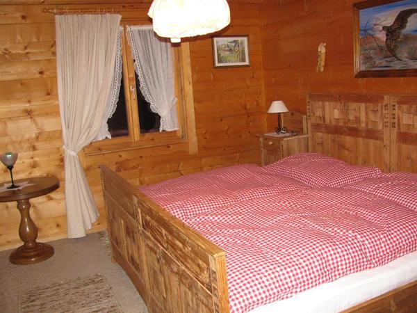 Doppelzimmer in der Hütte Thaler
