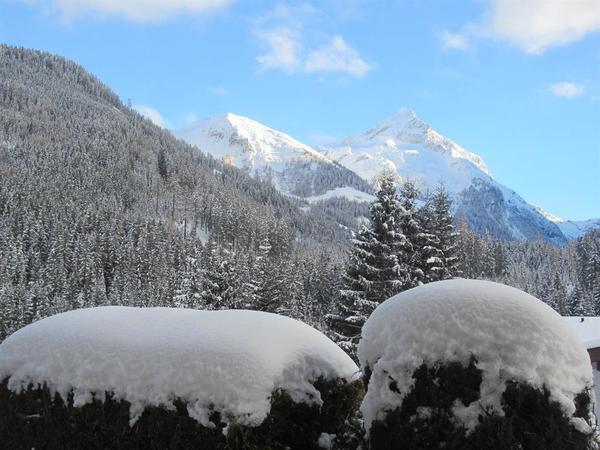Ausblick von unserer Terrasse