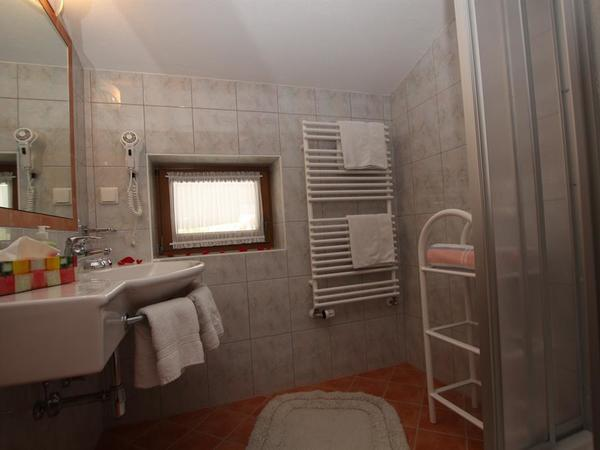 Dusche und WC sind getrennt