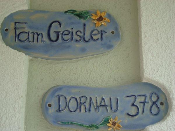 Bei Fam. Geisler