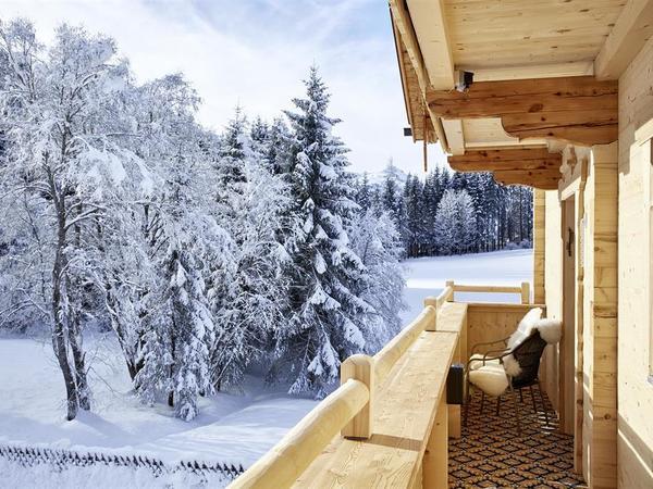 Balkon Schönruh Stadl Lodge