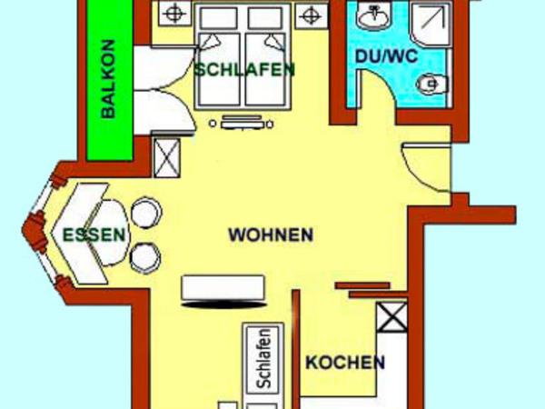 Grundriss App. Höhlenstein