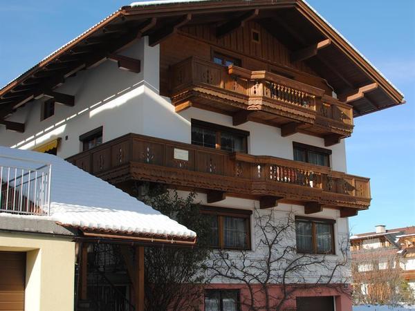 Haus Holaus Aschau Zillertal Winter