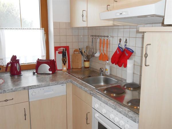 Ferienwohnung Schulz Hart Zillertal Küche