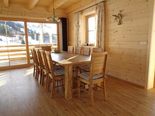 Sitzgruppe in der Wohnküche