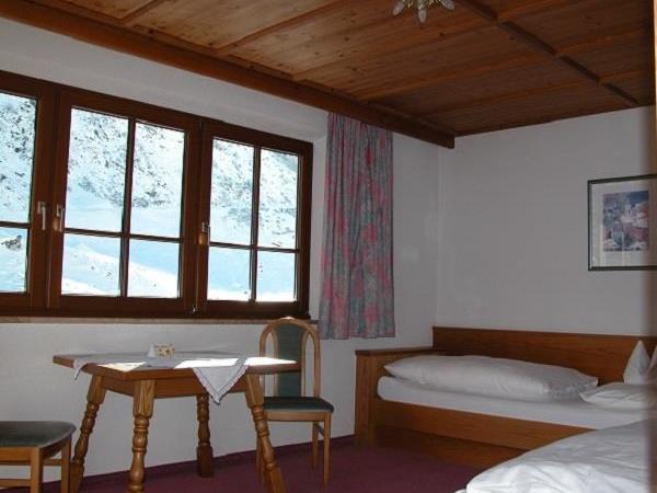 Studentenzimmer Tuxerjoch Berghof