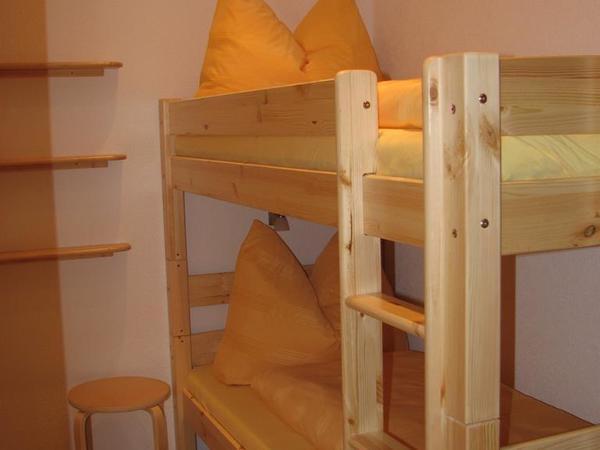 2. Zimmer mit Etagenbett
