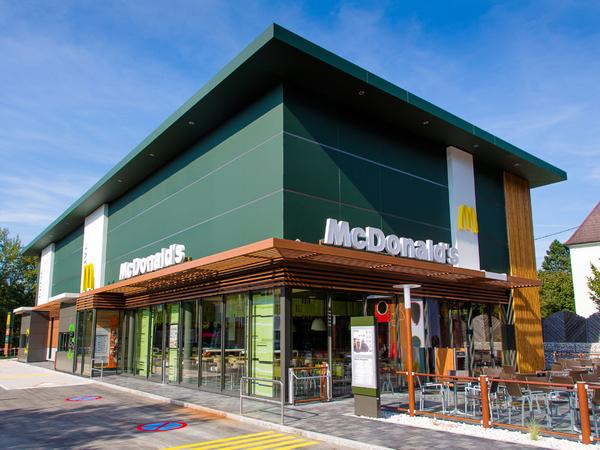 McDonald's mit McDrive