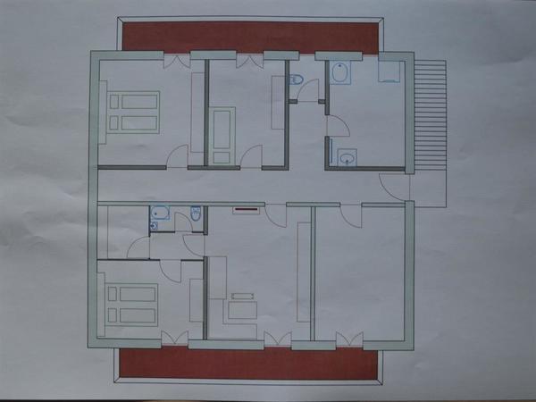 Zimmereinteilung