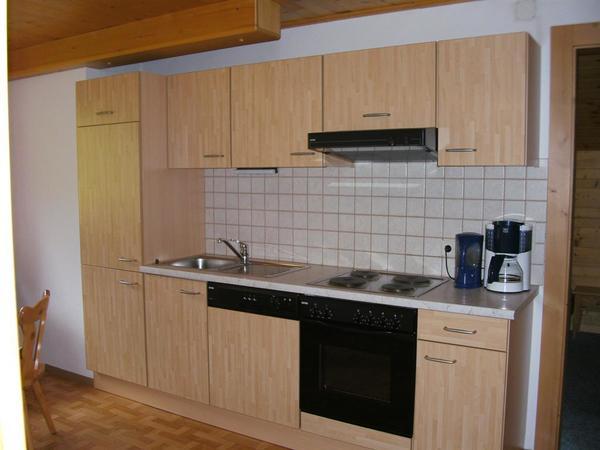 Küche in unserem Appartement
