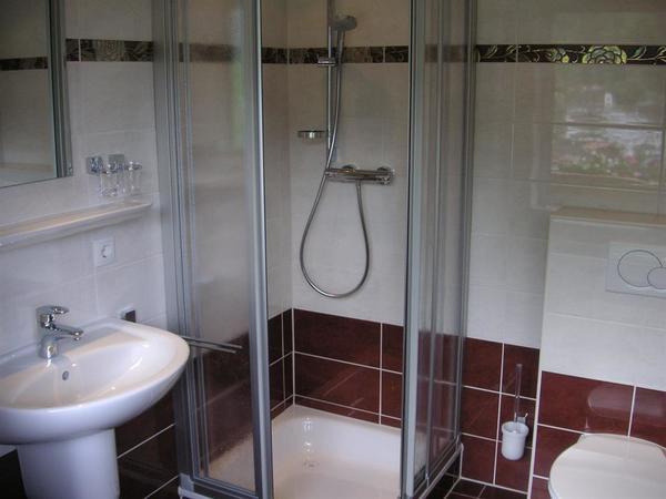 Dusche/WC Zimmer 1