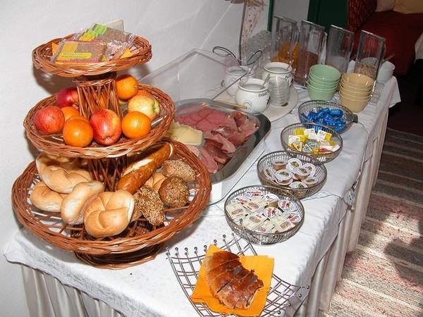 Frühstücksbuffet Pension Zillertall