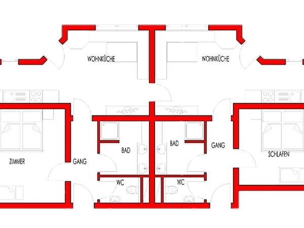 Plan Appartement Typ C