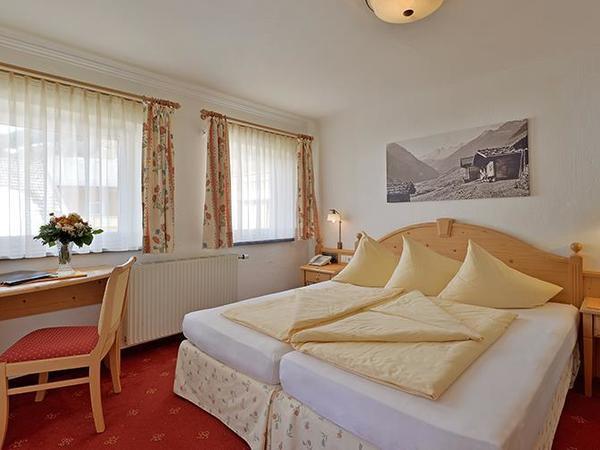 Double room type B hotel Glockenstuhl in Gerlos