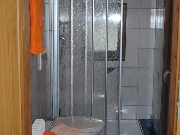 Dusche WC 2 Fewo Balkon