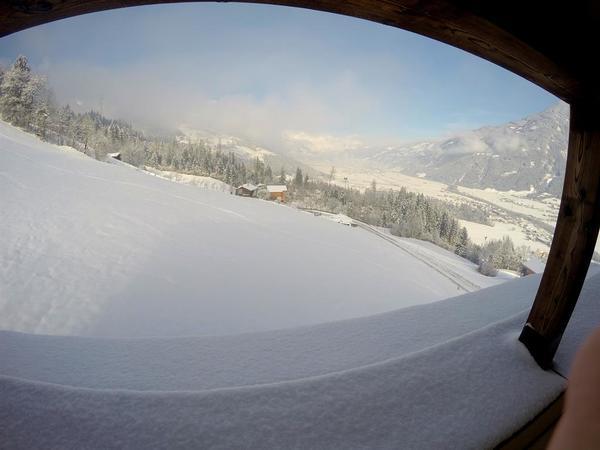 Panorama aufs Zillertal