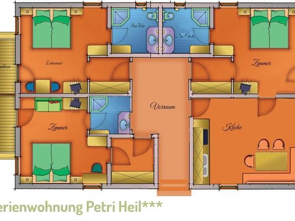 Ferienwohnung Petri Heil