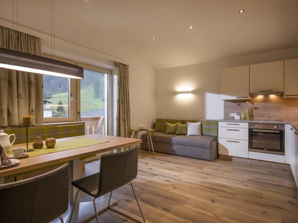 Haus Kreidl, Mayrhofen, Wohnküche2