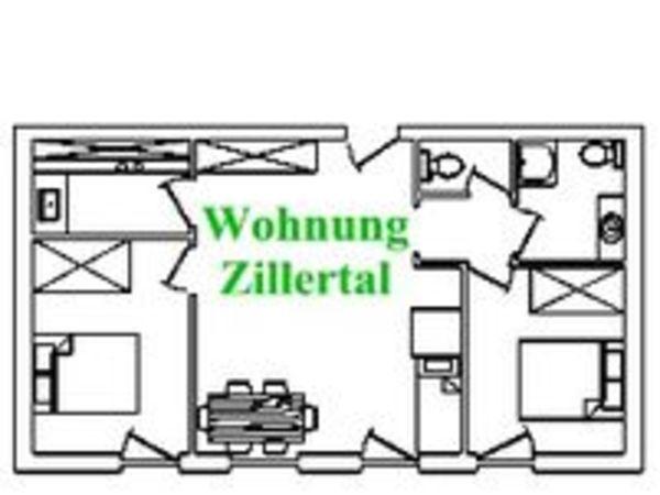 Zillertal - Grundriss