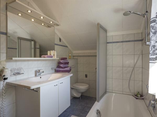Berghof Geisler - Apartment Turm - Badezimmer