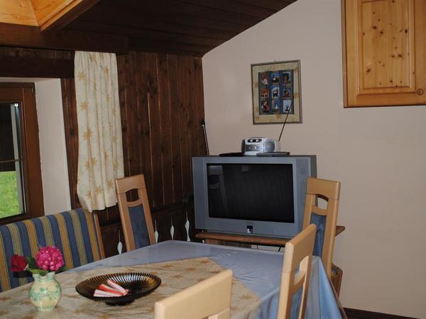 SAT-TV Küche Fewo Balkon