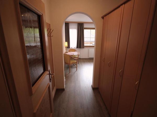 Vorraum zum 2. Doppelzimmer