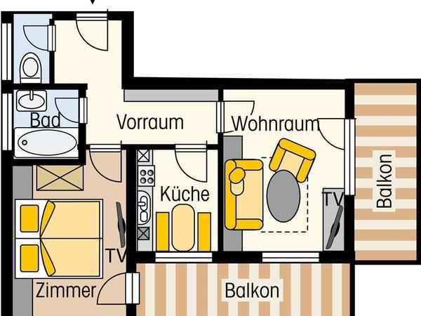 Appartement Typ D