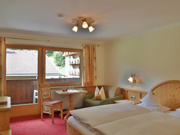 Dreibettzimmer mit Balkon Nr. 7