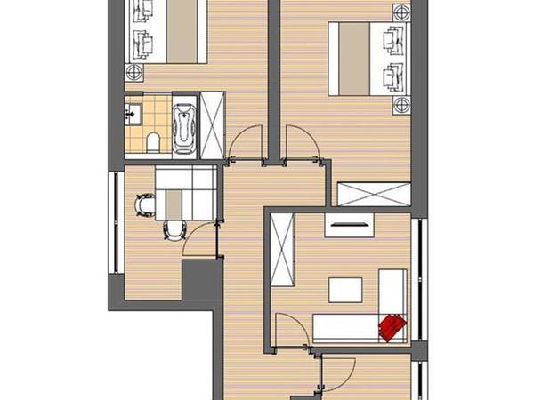 Haus Renate Fügen - Grundriss