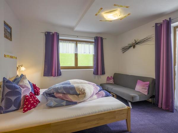 Schlafzimmer Wohnung Isskogelblick